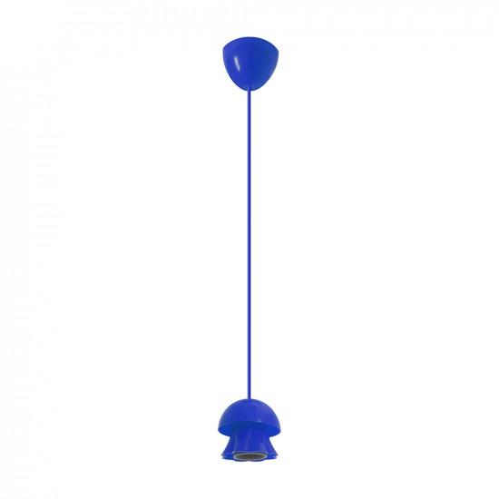 Підвіс ERKA 101, стельовий, 60W, синій, Е27