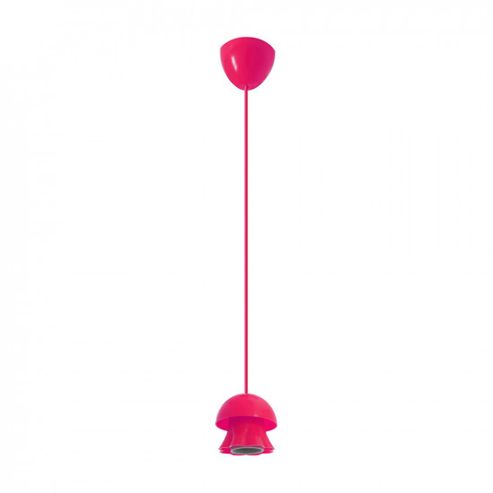 Light ERKA 101, ceiling mounted, 60W, pink , Е27