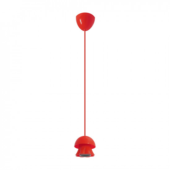 Light ERKA 101, ceiling mounted, 60W, red , Е27