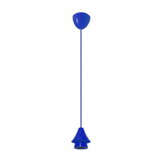 Light ERKA 102, ceiling mounted, 60W, blue, Е27