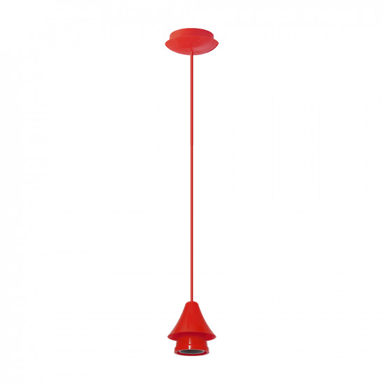 Light ERKA 104, ceiling mounted, 60W, red, Е27