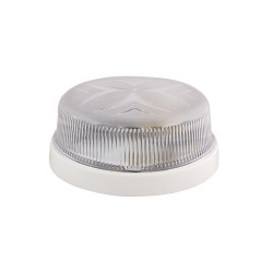 Light ERKA 1102 LED,  bulkhead luminaire, 12 W, 6000K, transparent, IP 20