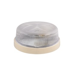 Light ERKA 1102 LED-K,  bulkhead luminaire, 12 W, 6000K, transparent, IP 20