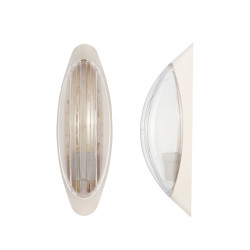 Light ERKA 1205 LED-K,  bulkhead luminaire, 12 W, 4200K, transparent, IP 20