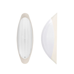 Light ERKA 1205 LED-KB,  bulkhead luminaire, 12 W, 4200K, white, IP 20