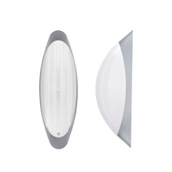 Light ERKA 1205D.i-SB,  bulkhead luminaire with motion sensor embedded, 26 W, white, E27, IP 20