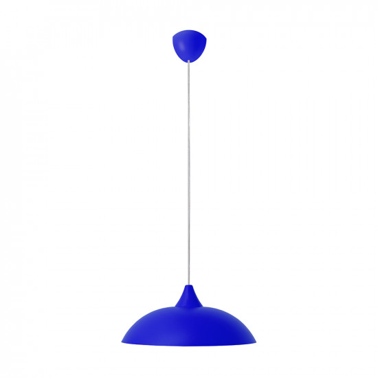 Light ERKA 1301, ceiling mounted, 60W, blue, Е27