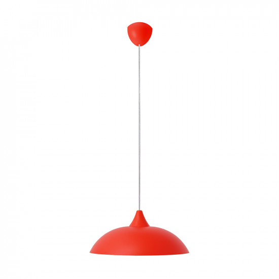 Light ERKA 1301, ceiling mounted, 60W, red,  Е27