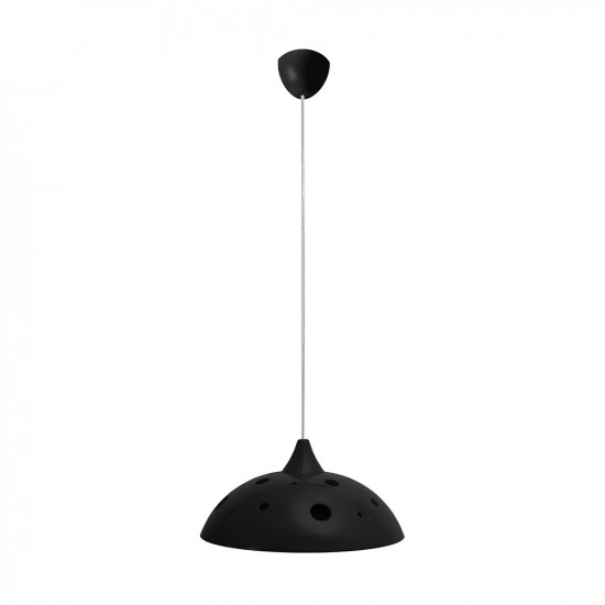 Light ERKA 1302, ceiling mounted, 60W, black,  Е27