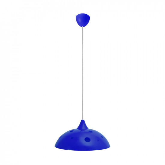 Light ERKA 1302, ceiling mounted, 60W, blue,  Е27