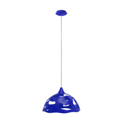 Light ERKA 1304, ceiling mounted, 60W, blue, Е27