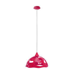Light ERKA 1304, ceiling mounted, 60W, pink, Е27