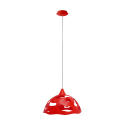 Light ERKA 1304, ceiling mounted, 60W, red, Е27